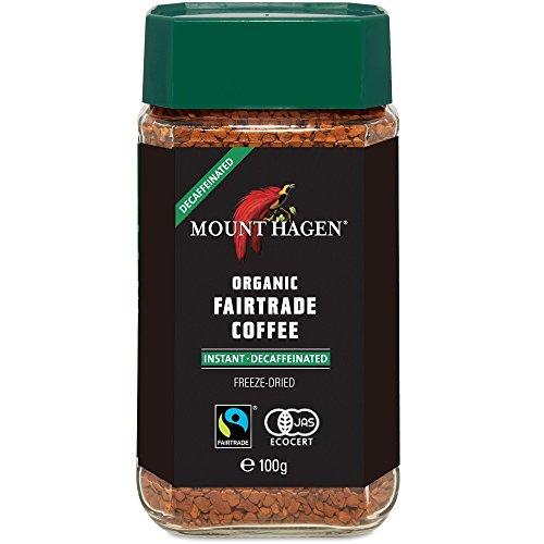 Mount Hagen(マウント ハーゲン)『オーガニックフェアトレード カフェインレス インスタントコーヒー』