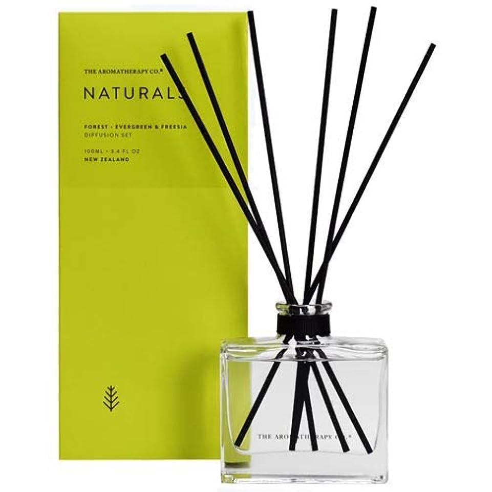 遡るロードハウス債務者アロマセラピーカンパニー(Aromatherapy Company) new NATURALS ナチュラルズ Diffusion Stick ディフュージョンスティック Forest フォレスト(森林) Evergreen & Freesia エバーグリーン&フリージア