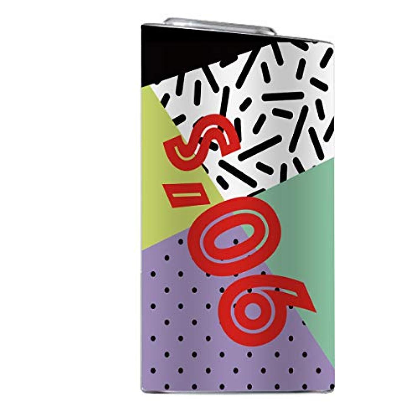 高音天皇glo スキンシール 【 glo専用 】 90年代 80年代 OLDSCHOOL かわいい オシャレ 人気 トレンド 柄 glo グロー 全面対応