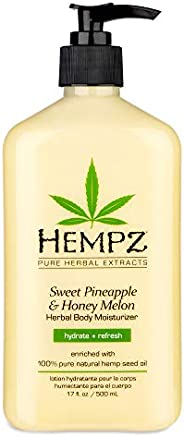 Hempz Sweet Pineapple and Honey Melon Herbal Body Moisturizer, 500 ml
