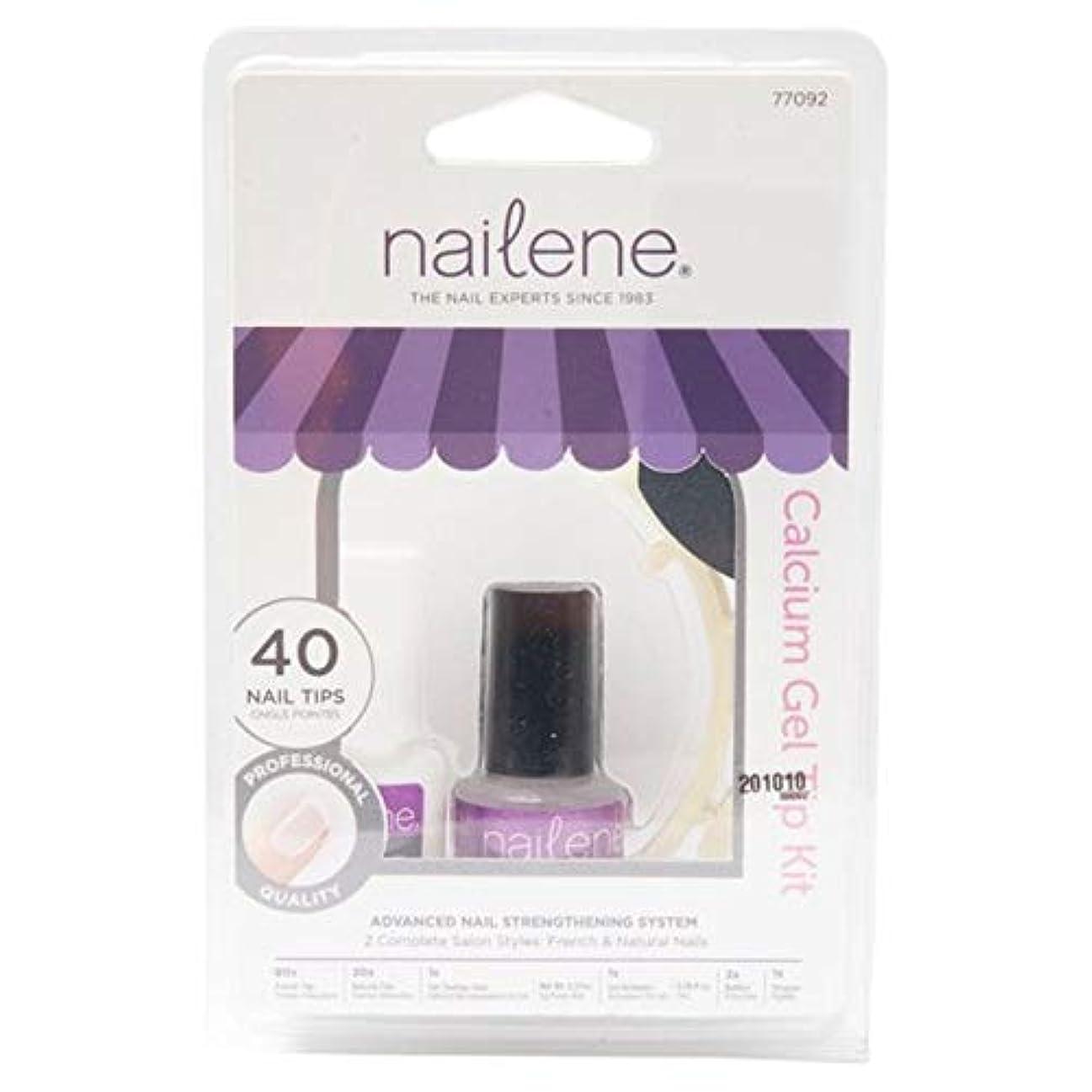 仲人ディーラーアリス[Nailene] Naileneカルシウムゲルキット77092 - Nailene Calcium Gel Kit 77092 [並行輸入品]
