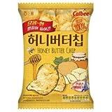 韓国お菓子・人気商品 新商品 ヘテ ハーニーバターチプ60g