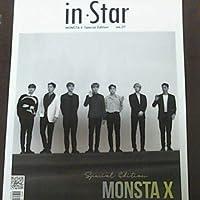 韓国雑誌 in Star vol.07 MONSTA X Special Edition ショヌウォノヒョンウォンミニョクキヒョンジュホンアイアム