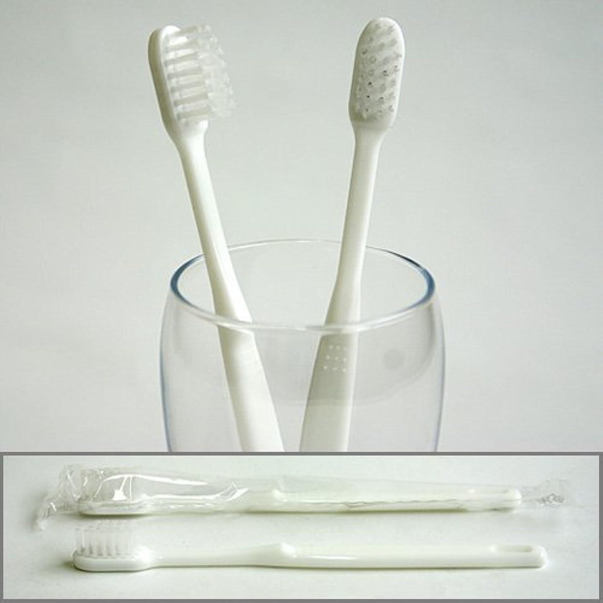 フォロー拮抗苦情文句業務用使い捨て歯ブラシ(ハミガキ粉無し) 40本入り│口腔衛生用 清掃用 掃除用 工業用 ハブラシ はぶらし