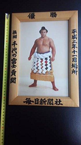 横綱 千代の富士 大相撲優勝額 平成2年11月場所 相撲 力士