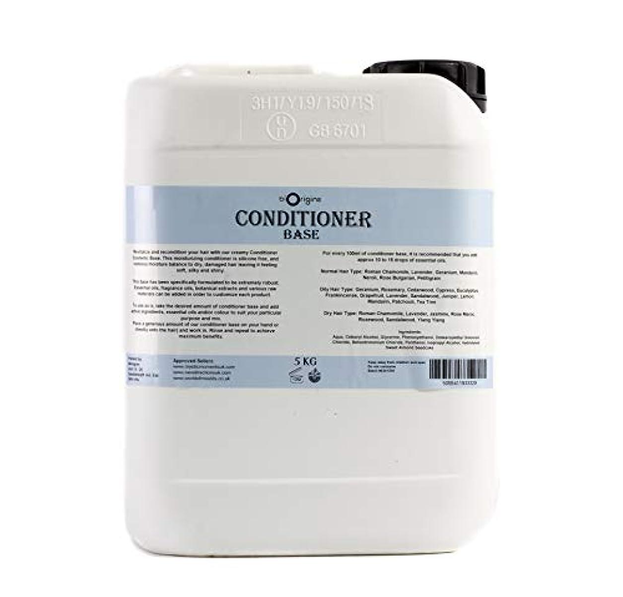 剃る独立した大聖堂Conditioner Base Natural Unscented - 5Kg