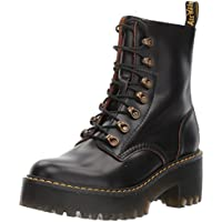 DR. MARTENS LEONA HIGH PROFILE BOOTS 22601001 BLACK UK5/EU38/AU7(W) M