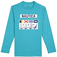 Nautica Baby Toddler Boys' Long Sleeve Graphic T-Shirt