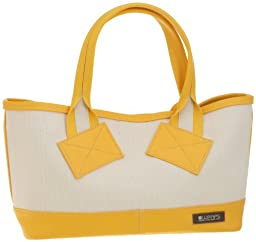 Massive Court Tote S: Yellow