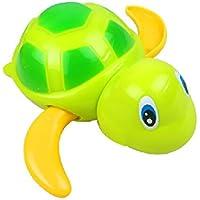 1pcs Baby bath swimming cool little turtle swim / fish Clockwork small animal toys Plastic Clockwork Wind-up Toy Tortoise by Update Everyday
