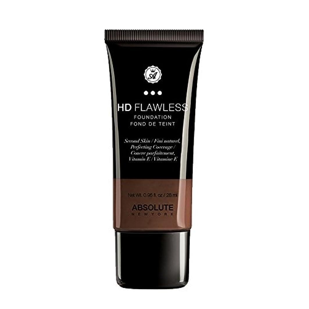 舗装する放射能お手入れ(3 Pack) ABSOLUTE HD Flawless Fluid Foundation - Espresso (並行輸入品)