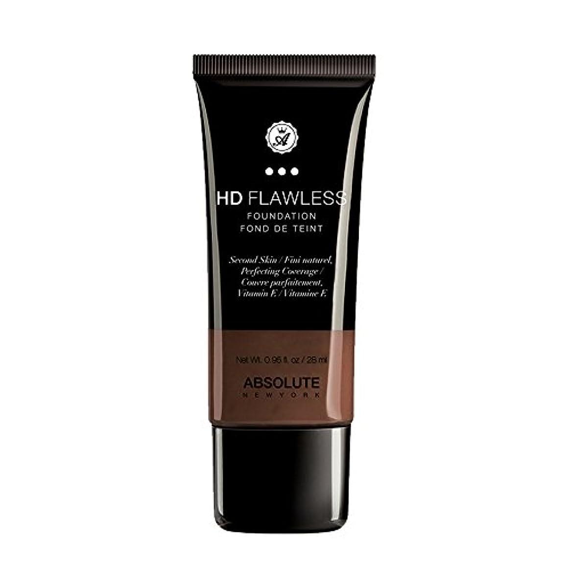 決して寝具後者(3 Pack) ABSOLUTE HD Flawless Fluid Foundation - Espresso (並行輸入品)