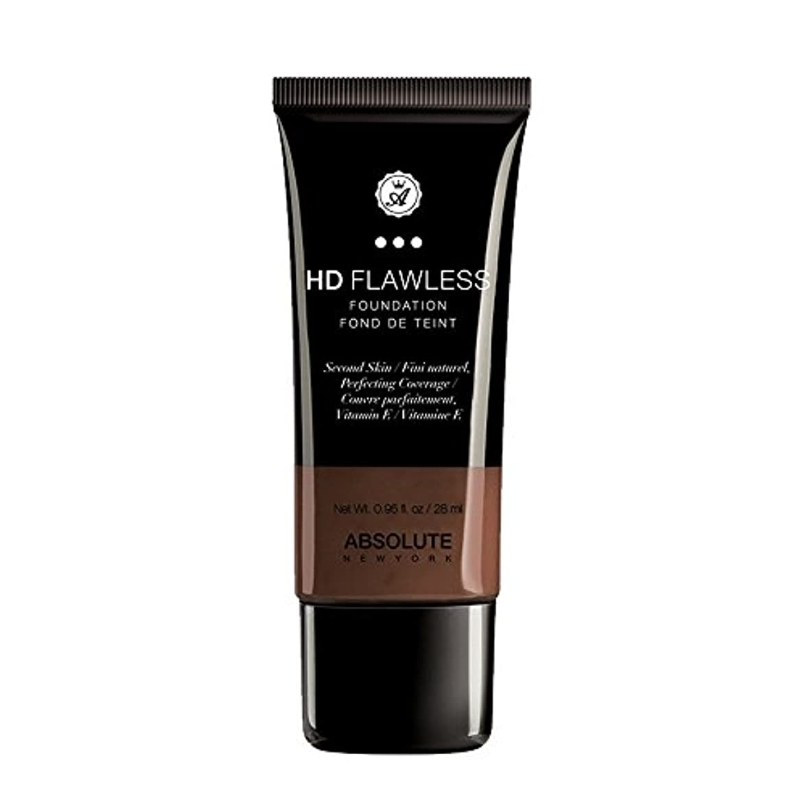 (3 Pack) ABSOLUTE HD Flawless Fluid Foundation - Espresso (並行輸入品)