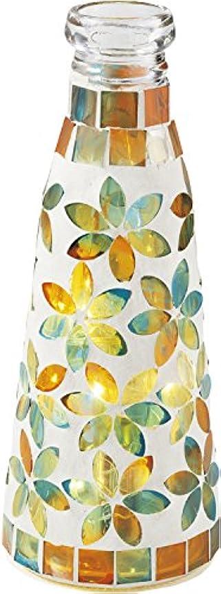 突き出すヘビー絶滅したニュートピア(Newtopia) アウトドア LEDライト ボトル型モザイクライト(OR) NTP2579