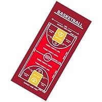 作戦ボードタオル?バスケットボール/スポーツタオル/red(赤)