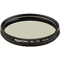 Amazonベーシック カメラ用レンズフィルター 円偏光フィルター 58mm CF02-NMC16-58