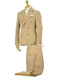 LARDINI【ラルディーニ】ダブルスーツ JM034AQ/EERL50259 201 コットンリネンソラーロ ベージュ