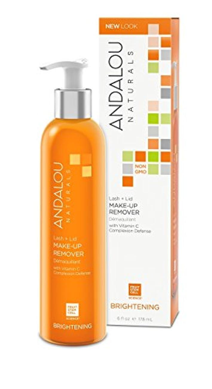 乳剤自動的に職業オーガニック ボタニカル 洗浄料 洗顔料 クレンジング ナチュラル フルーツ幹細胞 「 L&L メークアップリムーバー 」 ANDALOU naturals アンダルー ナチュラルズ