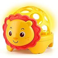 Yiping 子供用 知育玩具 赤ちゃん ラブリーソフト グルー ハンドラトル ベル 子供 赤ちゃん ファニー イラスト おもちゃ ボール ギフト