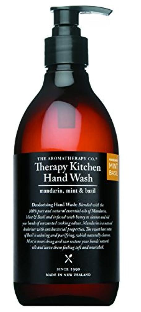 整理する土砂降り性差別Therapy Kitchen セラピーキッチン Dish & Hand Wash マンダリン?ミント&バジル