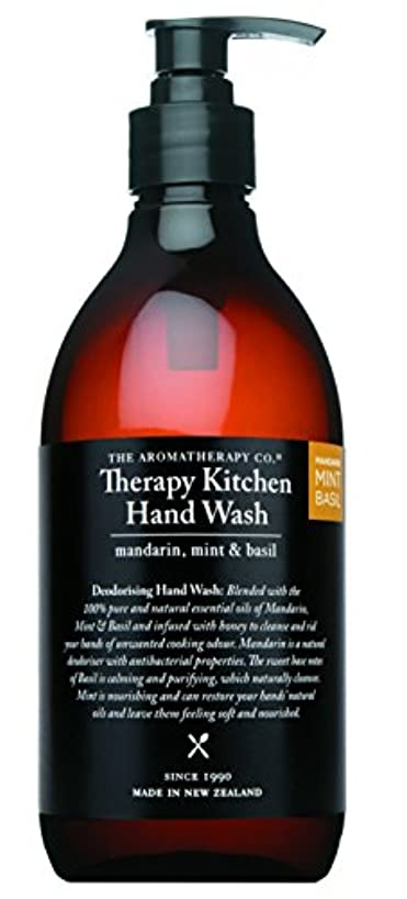 夜明け走るボックスTherapy Kitchen セラピーキッチン Dish & Hand Wash マンダリン?ミント&バジル