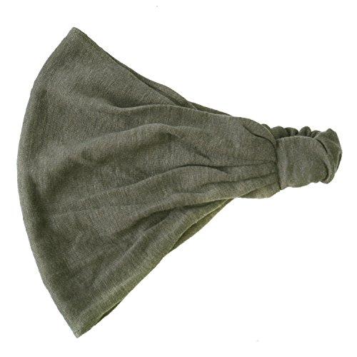 (休閒盒)頭帶亞麻天然頭巾發帶中性魅力
