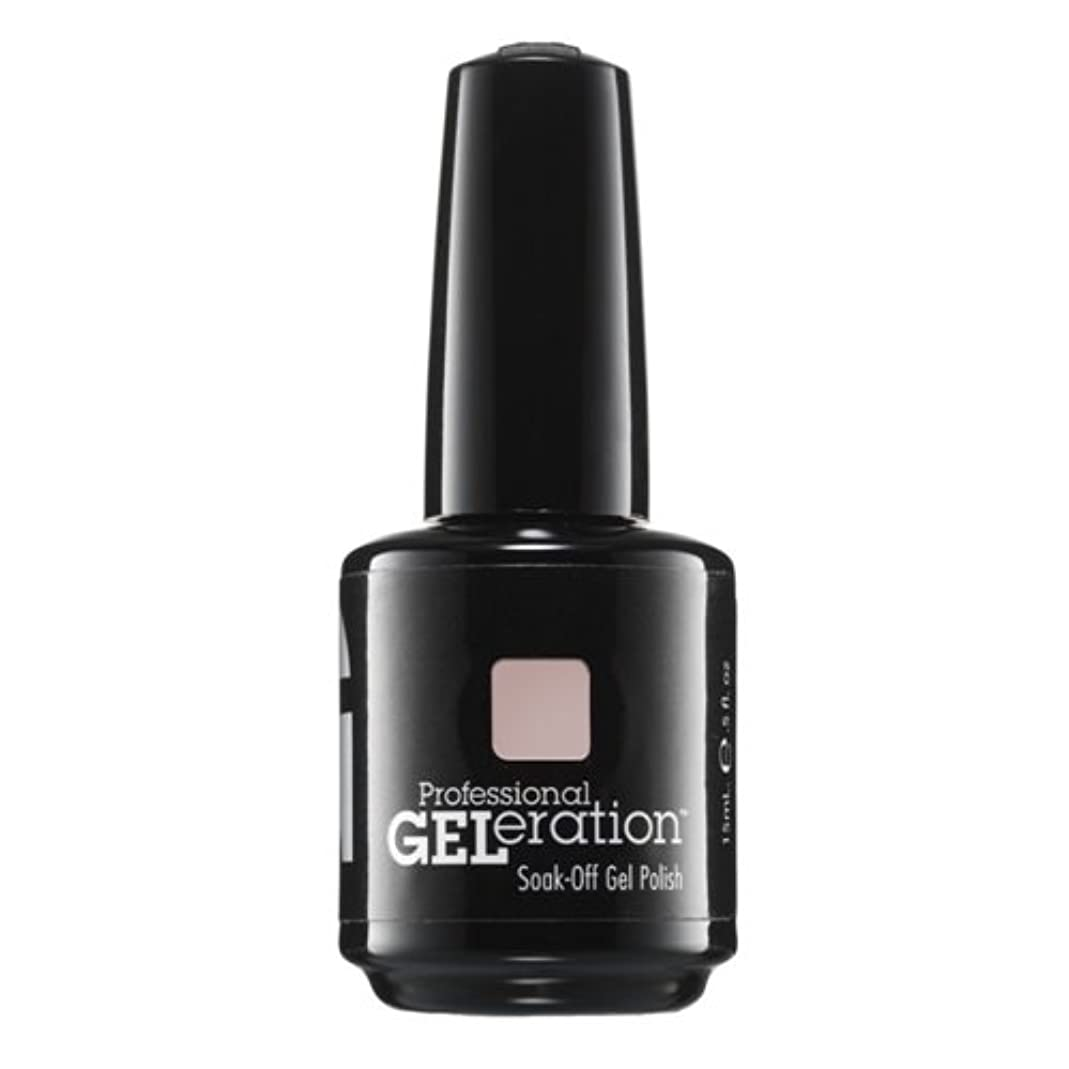 機械的に中央でもJessica GELeration Gel Polish - 2017 Silhouette Collection - Tease - 15ml / 0.5oz