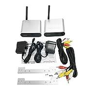Saikogoods TV Box 4K セットトップ ボックス 5.8GHz帯無線伝送オーディオビデオトランスミッター&レシーバーのためにA/V機器のデジタルカメラテレビVCD DVD IPTVのDVR シルバー&ブラック