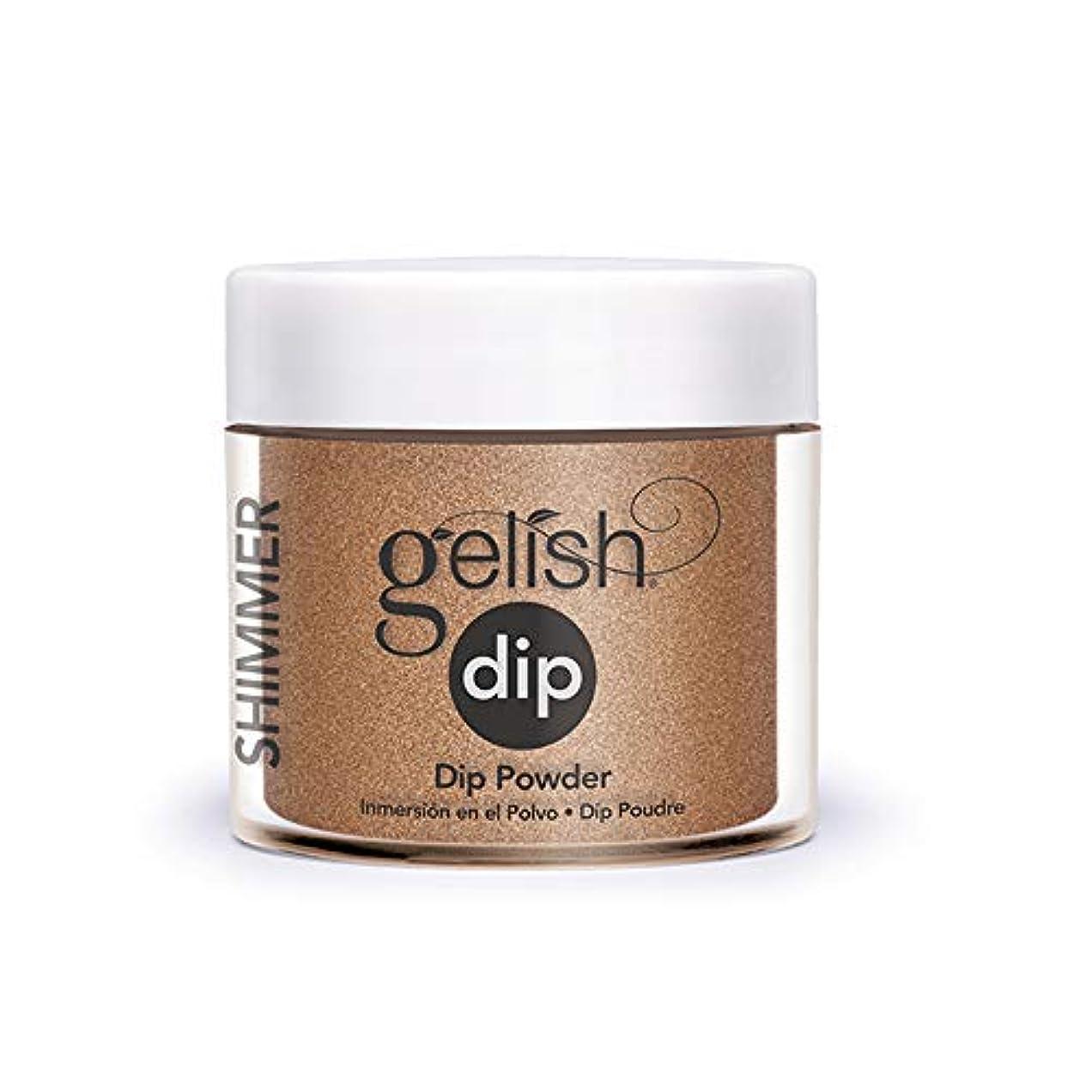 パフこれら勇気のあるHarmony Gelish - Acrylic Dip Powder - Bronzed & Beautiful - 23g / 0.8oz