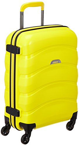 [アメリカンツーリスター] AmericanTourister スーツケース CROSSWAVE クロスウェーブ スピナー55 31L 2.7kg 機内持込可 I56*26001 26 (エレクトリックイエロー)