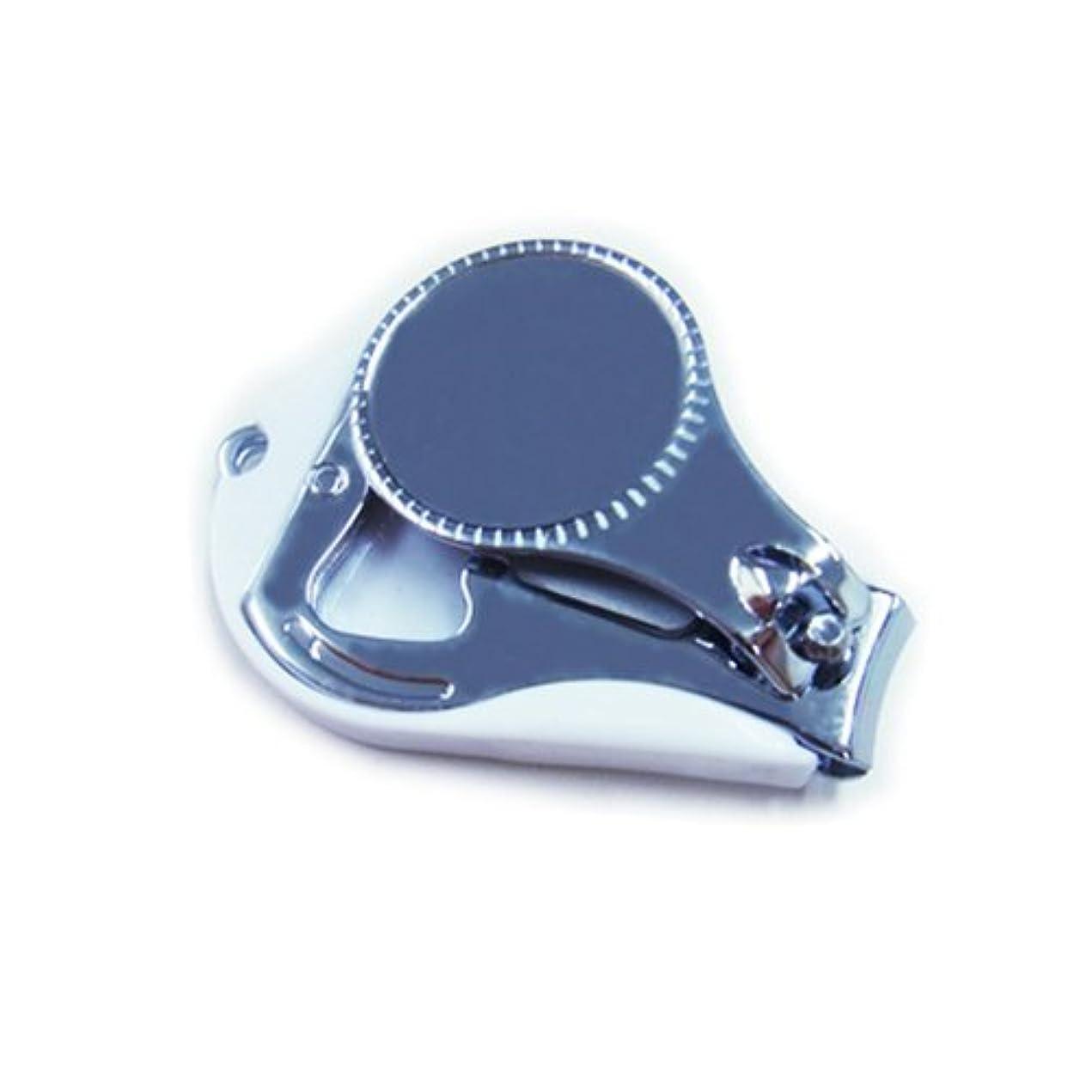 靴ナインへ意識的【爪切り】 デコ土台/デコ素材/爪切/デコりやすい爪切り/ベース/デコ用 (ホワイト)