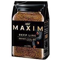 AGF MAXIM ディープライン 袋 135g×12袋入 マキシム