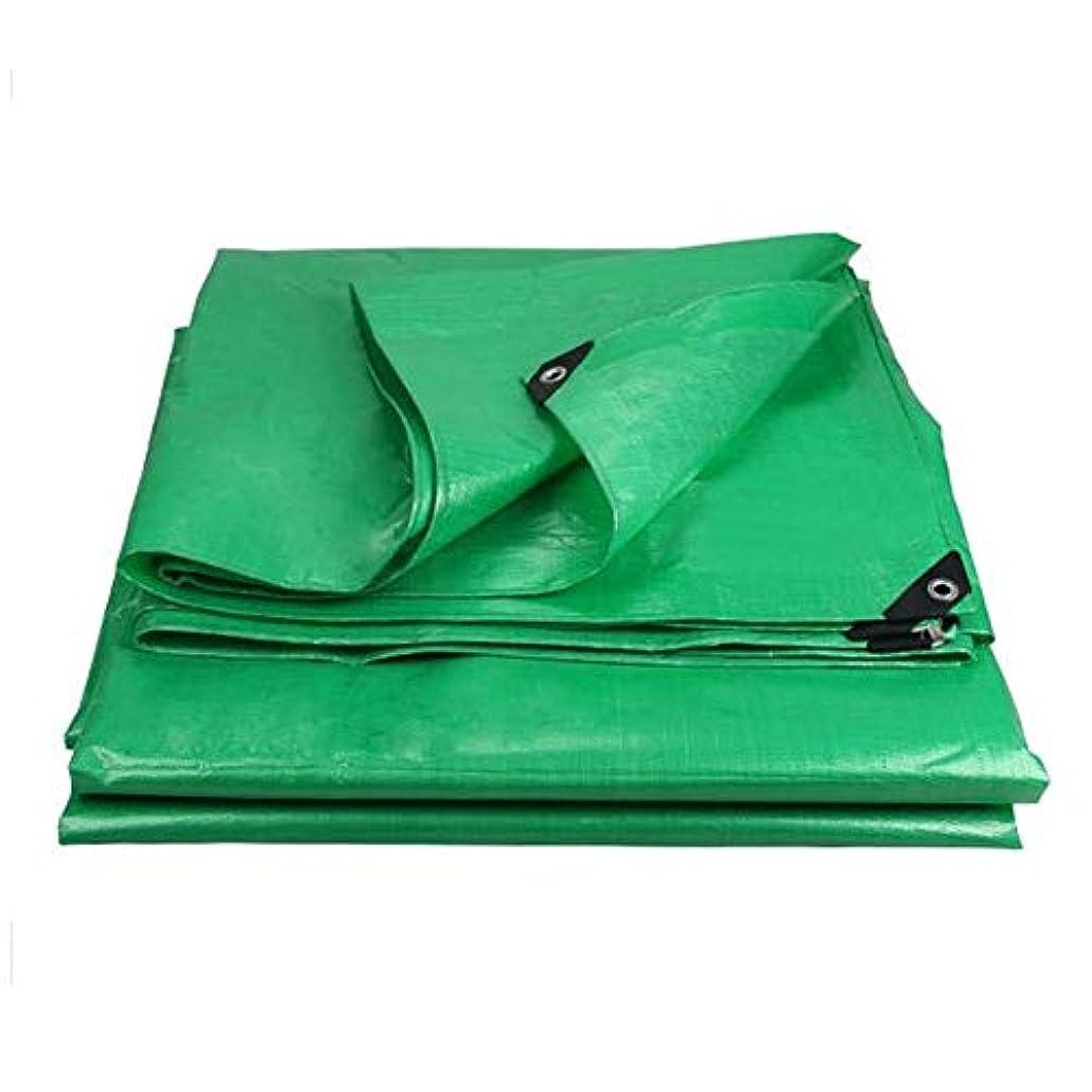 動機付ける提供されたレインコートZX タープ 防水シートトラックカバー屋外のサンシェード防塵防風高温抗老化防止タープ テント アウトドア (Color : Green, Size : 6x8m)