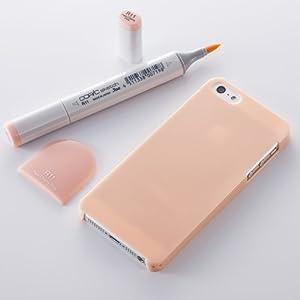 Simplism iPhone 5/5S クリスタルカバー 傷防止コーティング/ストラップホール/抗菌/液晶保護フィルム付属 ペイルチェリーピンク TR-CCIP13-PK
