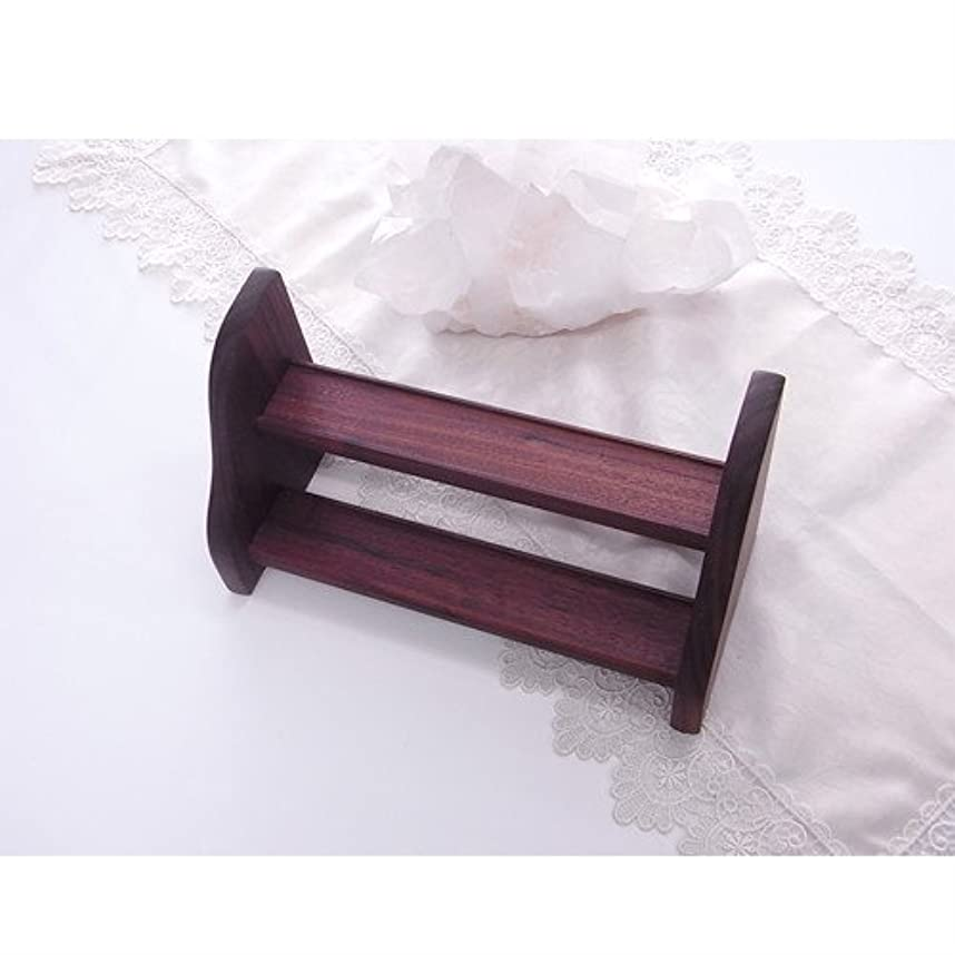 中庭国籍レンダーフラワーエッセンス 用 木製 ラック Dタイプ 2段