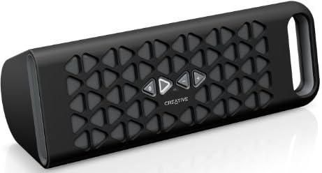 CREATIVE MEDIA Creative MUVO 10グレー NFC Bluetooth ポータブルスピーカー スピーカーフォン SP-MV10-BK