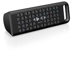 CREATIVE MEDIA Creative MUVO 10 グレー NFC Bluetooth ポータブルスピーカー スピーカーフォン SP-MV10-BK