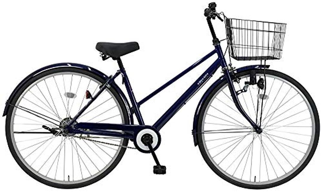 カトリック教徒子花瓶C.Dream(シードリーム) アクアシティ AA71 27インチ自転車 シティサイクル ブルー 100%組立済み発送