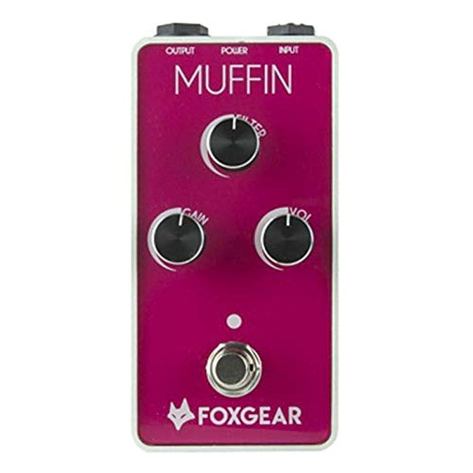 嘆く仮定する生FOXGEAR / MUFFIN ファズ ディストーション フォックスギア