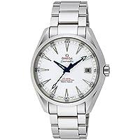 [オメガ]OMEGA 腕時計 シーマスターアクアテラ シルバー文字盤 コーアクシャル自動巻 150M防水 クロノメーター