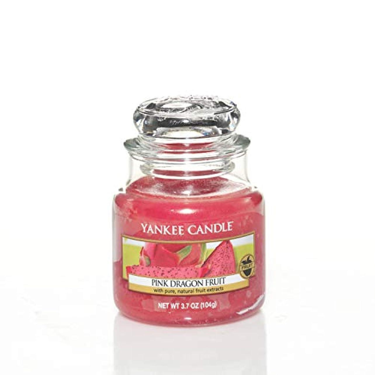 時刻表製品恥Yankee Candle Small Jar Candle, Pink Dragon Fruit by Yankee Candle