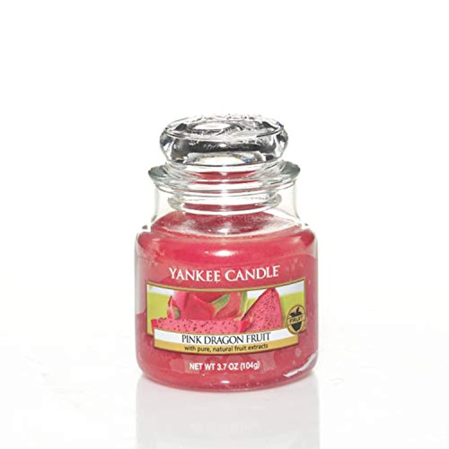 精査する契約プレゼンテーションYankee Candle Small Jar Candle, Pink Dragon Fruit by Yankee Candle