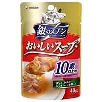 銀のスプーン おいしいスープ 10歳以上用まぐろ・かつおにしらすとかつお節入り 40g×12P