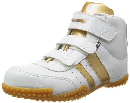 [サンダンス] ハイカット 安全靴 スニーカー GT-XX メンズ ホワイト/ゴールド 28