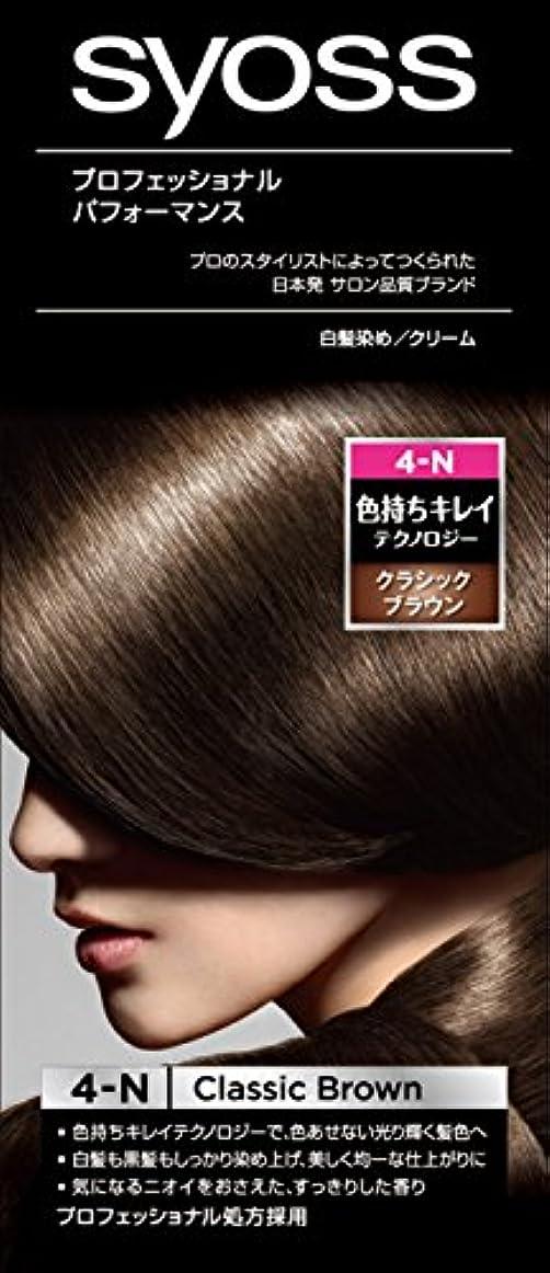 黒板共和国王族サイオス ヘアカラー クリーム 4 クラシックブラウン 50g+50g [医薬部外品]