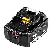 マキタ 18v バッテリー bl1860b マキタ互換バッテリー 18v マキタバッテリー 18v BL1860B 互換 バッテリー 大容量 6.0Ah LED残量表示付き 電動工具専用 バッテリー BL1830 / BL1840 / BL1850 / BL1860 対応互換品 安心の1年保証 DOSCTT