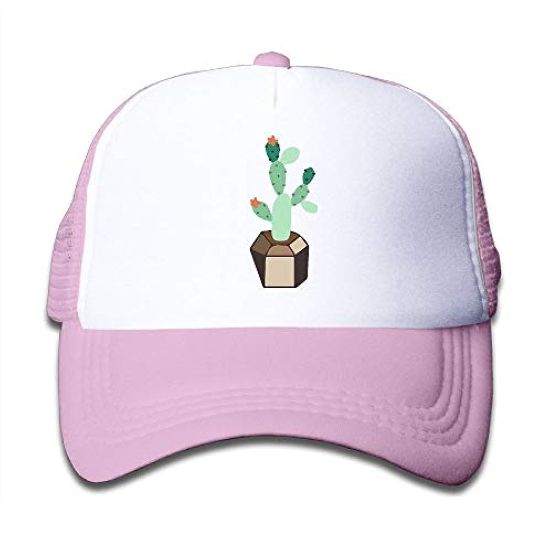 サボテン 鉢植え 素敵 かわいい おもしろい ファッション 派手 メッシュキャップ 子ども ハット 耐久性 帽子 通学 スポーツ