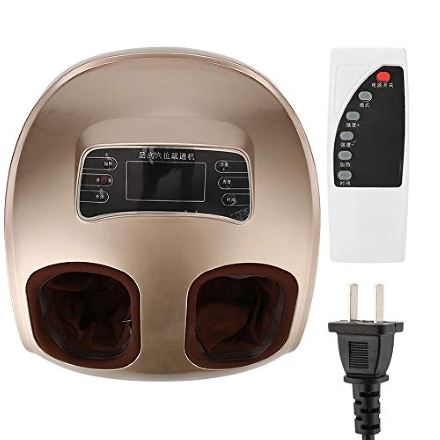 フットマッサージャー220ボルト電気フットマッサージャー足鍼ポイントマッサージ混練軽減する疲労マシンCN