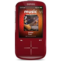 SanDisk Sansa Fuze+ 4 GB MP3 Player (Red) (Discontinued by Manufacturer) by Sansa Fuze +