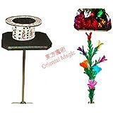 フェザーフラワーとマイラーフラワー/ショーンフラワーテーブルへのテーブル / Table To Feather Flower And Mylar Flower/Shaun Flower Table -- ステージマジック / Stage Magic /マジックトリック/魔法; 奇術; 魔力